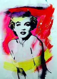 Michael St. Amand Marilyn's Muse